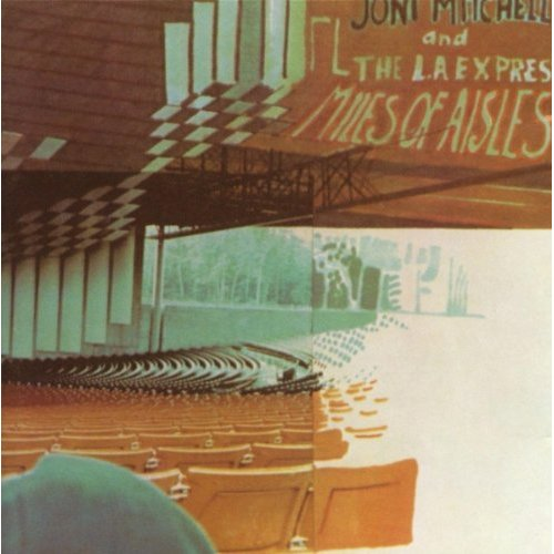 Joni Mitchell: Miles of Aisles - Albumcover