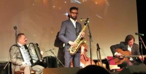 Café Royal Salonorchester beim 4. Elbinsel-Gipsy-Festival