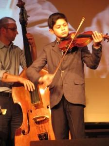 Sunny Franz beim 4. Elbinsel-Gipsy-Festival
