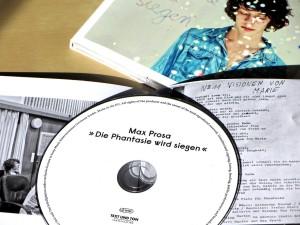 Max Prosa: Die Phantasie wird siegen - CD Details
