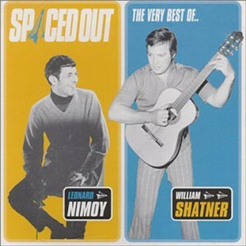 William Shatner & Leonard Nimoy: Spaced out - Albumcover