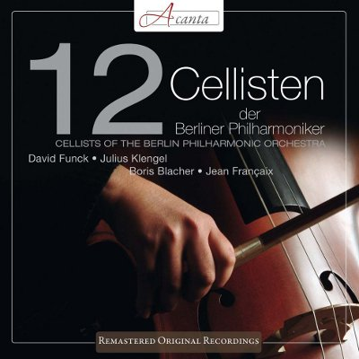 12 Cellisten - Plattencover - 400px